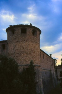 la torre d' angolo