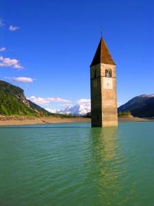 Curon Venosta…il paese sott'acqua