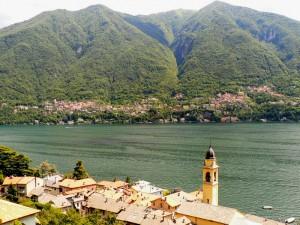 le due sponde del lago di Como