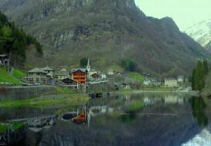 Il lago di Rimasco