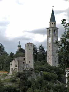 Quel che rimane del Castello di Artegna