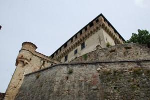 scorcio del castello Trotti