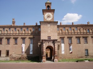 ingresso del palazzo pio