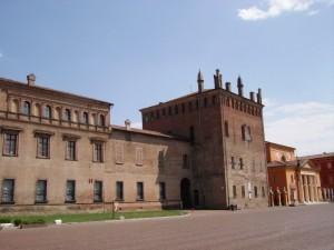lato est  del palazzo Pio