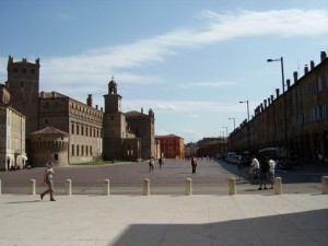 panorama di piazza martiri