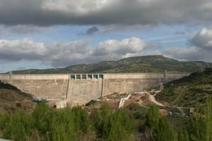 Panorama della Diga Eleonora D'Arborea.