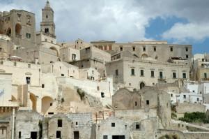 Le case di Matera