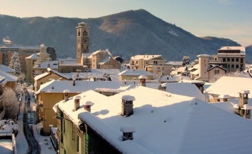 Borgosesia - Panorama invernale