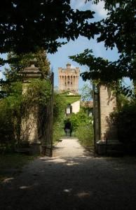"""Castello di San Pelagio lato""""B"""" incorniciato"""