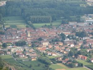 Panorama di Borgofranco