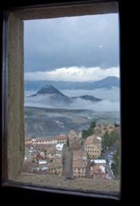Vista di San Leo dal castello