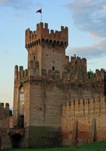 Una torre della mura di Montagnana
