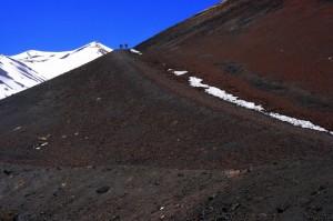 Scalata dei crateri Silvestri
