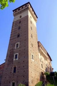 Rovasenda - La torre del castello