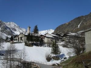borgata Celle di Bellino, paesaggio