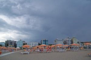 Arriva il temporale