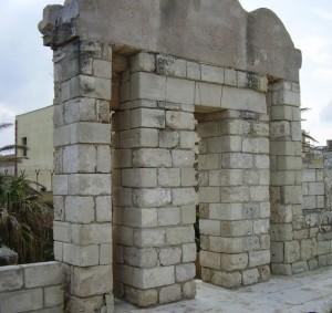 Trapani - particolare del Bastione dell'Imperatore