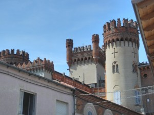 Torri merlate del castello