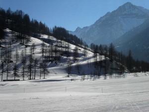 Pragelato, verso la Val Troncea