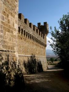 Castello di Spedaletto - Val d'Orcia