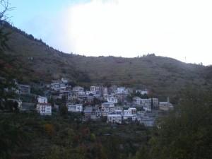 panorama di Piaggia, frazione di Briga Alta, Val Tanaro