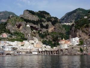 Amalfi dalla nave