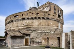 La mole di Castel Sant'Angelo