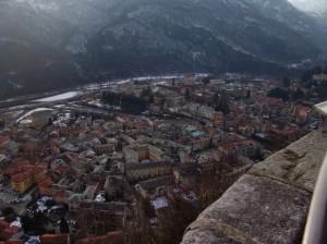 Varallo vista dal Sacro Monte