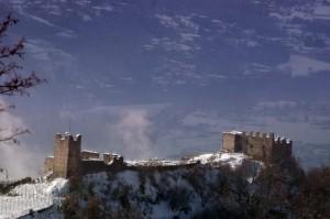 Panorama del Castel Grumello da Montagna