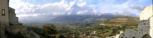 Panorama di Buccino