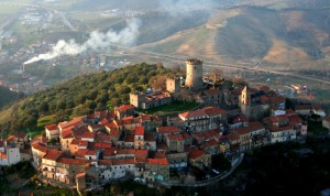 Panorama di Castelnuovo Cilento