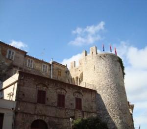 Il castello di Palombara Sabina