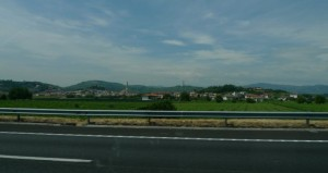 Dall'autostrada