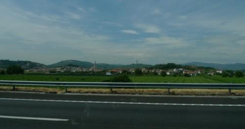 Monteforte d'Alpone - Dall'autostrada