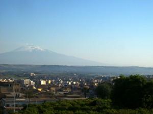 Lentini e l'Etna