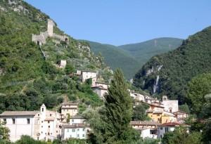 Il castello di Ferentillo