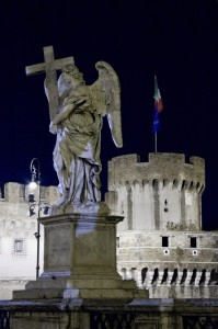 L'angelo custode di Castel Sant'Angelo