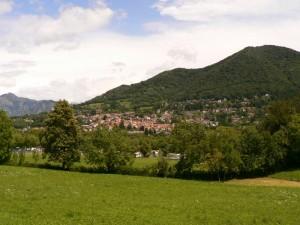 il paese al centro della valle