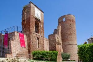 I resti del Castello di Moasca