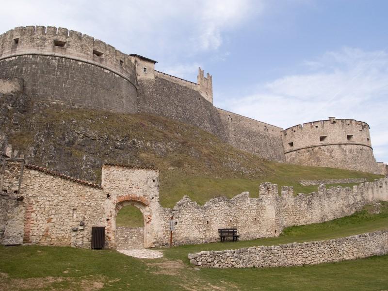 ''la fortezza di  Besenello ( tn )'' - Besenello
