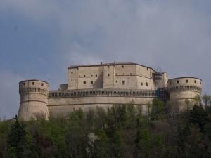il castello di SAN LEO  ( RN )