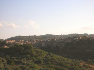 Nissoria, Veduta