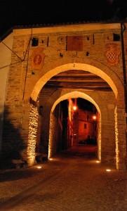 La Porta di accesso all'antico Borgo Medievale