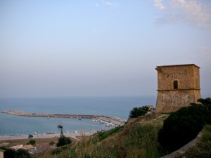 Torre di guardia a Porto Palo di Menfi