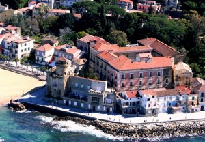 torre su torre a San Marco di Castellabate