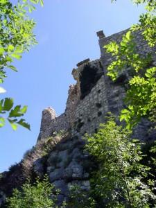 Un castello diruto