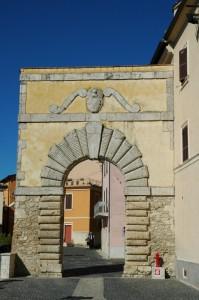 Porta principale d'accesso al Castello