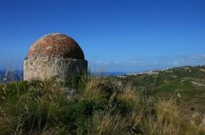 bunker che domina il tirreno