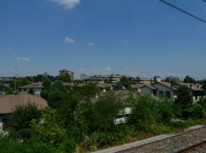 Dal treno: Borgolombardo