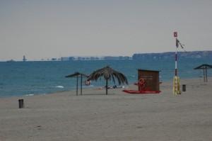 La spiaggia di Torvajanica
